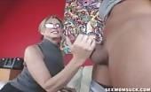 Mrs. Jodi West and Teen Gabby Milk Cock