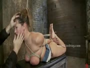 deepthroat, rough sex, bondage, bdsm, fetish, big tits, extreme, sadomaso, slave, fake tits