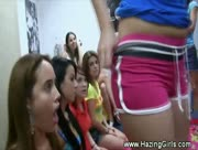 College Girls Forced To Lick Ass