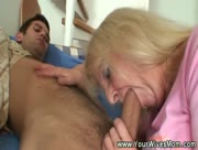 Granny Sucks Son In Law