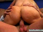 Granny With Big Round Ass Fucked Hard