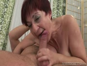 Old Redhead Granny Fucked By Young Long Cock