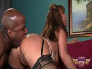 Ava Devine Jacked Up & Penetrated By Black Cock
