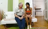 Old Grandpa Fucks Teenage Girl Anal