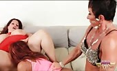 Old Dom Ball Gags And Fucks Ava Devine In The Ass HARD With A Strapon Dildo