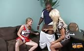 Mother And Daughter Have  A Taboo Threesome With A Black Guy