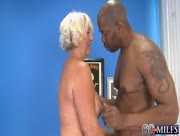 75 Year Old Granny VS Big Black Cock