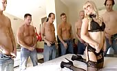 Blonde Whore With Big Ass Gang Fucked