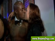 CFNM Girls And Big Black Cock From Male Strippers