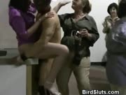 CFNM Milfs Fucked By Male Stripper