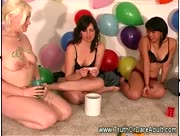 Amateur party with nasty sex games