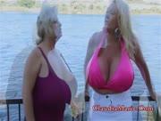 Claudia Marie & Kayla Kleevage Big Tits Lesbian Art