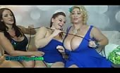 Threesome Lesbians With Huge Saggy Tits Samantha 38G