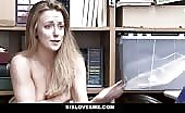 Teen Girl Caught Shoplifting And Fucked Hard