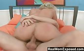 Blonde Mom Takes A Hard Fucking