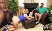 Chubby Nikki Sexx Fucked By BBC While Cuckold Watches