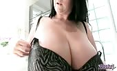 HUGE Real Tits With Super Long Nipples
