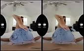 Teen Girl Sucking And Riding Cock In Virtual Reality Porn