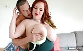 BBW Redhead Fucked By Mexican Cock